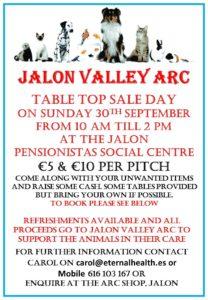 Jalon Valley ARC Table Top Sale @ Pensionistas Hall | Jalón | Valencian Community | Spain