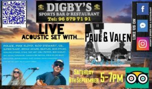 Paul and Valen at Digby's !!! @ Digby's Sports Bar | Platja de l'Arenal | Comunidad Valenciana | Spain