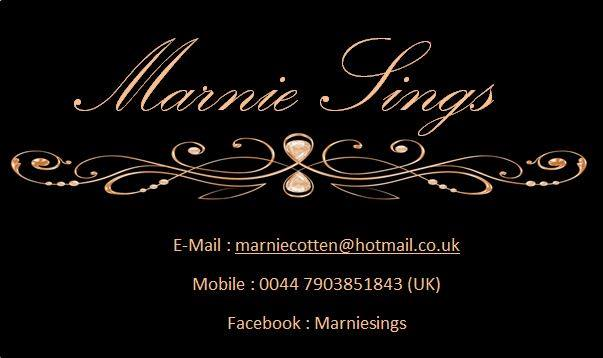 Marnie Cotton Singer and Entertainer