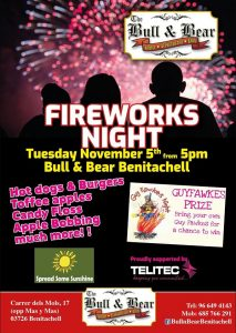 Firework Night at Bull and Bear @ Bull and Bear | El Poble Nou de Benitatxell | Comunidad Valenciana | Spain