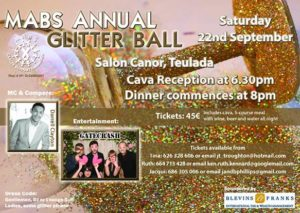 MABS Annual Glitter Ball @ Salon Canor | Teulada | Comunidad Valenciana | Spain
