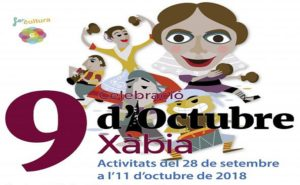 9th October Celebrations @ Various Locations (see below) | Xàbia | Valencian Community | Spain