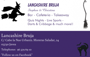 Quiz Night at Lancashire Bruja @ Lancashire Bruja ( and a nearby sea!) | Xàbia | Comunidad Valenciana | Spain
