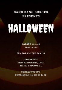 Bang Bang Halloween Night @ Bang Bang Burger | Xàbia | Comunidad Valenciana | Spain