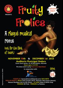 Fruity Frolics Theatre Show @ Auditorium Ondara | Ondara | Comunidad Valenciana | Spain