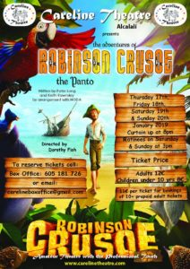 Robinson Crusoe at Careline Theatre @ Careline Theatre | Alcalalí | Comunidad Valenciana | Spain