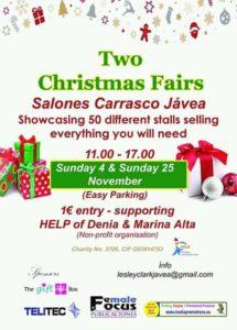Christmas Fairs at Carrasco, Javea @ Carrasco | Jávea | Comunidad Valenciana | Spain