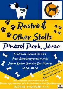 APASA Rastro. Every Month in Pinosol Park @ Pinosol Park | Xàbia | Comunidad Valenciana | Spain