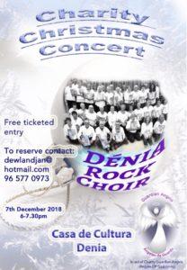 Denia Rock Christmas Concert @ Casa Cultura   Dénia   Comunidad Valenciana   Spain