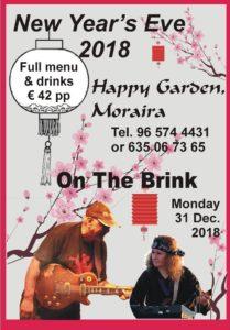 On The Brink of New Year at Happy Garden @ Happy Garden   Teulada   Comunidad Valenciana   Spain