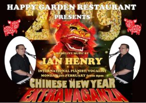 Chinese New Year at Happy Garden with Ian Henry @ Happy Garden | Teulada | Comunidad Valenciana | Spain