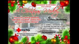 A Christmas Medley in Aid of The Red Cross @ La Finca | Beniarbeig | Comunitat Valenciana | Spain