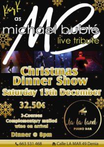 Michael Buble Tribute at LaLa Land Piano Bar @ La La Land Piano Bar   Dénia   Comunidad Valenciana   Spain