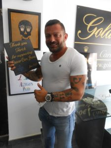 Gold Rush Supports Cancer Care Javea