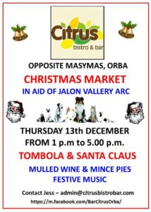 Christmas Market at Citrus Bar @ Citrus Bar | Orba | Comunidad Valenciana | Spain