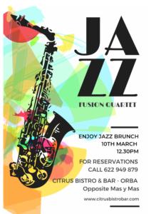 Jazz Fusion at Citrus Bar @ Citrus Bar | Orba | Comunidad Valenciana | Spain