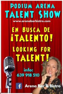 Podium Arena Talent Show at Arena Bar, Denia @ Arena Bar   Dénia   Comunidad Valenciana   Spain