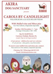AKIRA Carols by Candlelight at El Martillo @ El Martillo | Moraira | Comunidad Valenciana | Spain