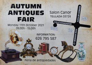 Antiques Fair at Salon Canor @ Salon Canor | Teulada | Comunidad Valenciana | Spain