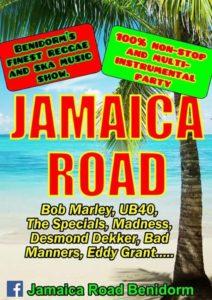 Jamaica Road at Bar Quo Vadis @ Quo Vadis | Jávea | Comunidad Valenciana | Spain