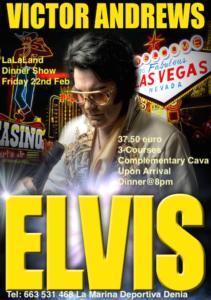 Elvis Tribute at LaLa Land Piano Bar @ La La Land Piano Bar | Spain