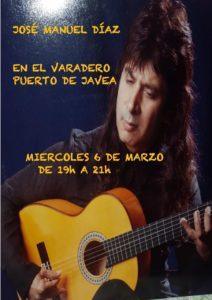 Jose Manuel Diaz at Varadero . @ El Varadero | Jávea | Comunidad Valenciana | Spain