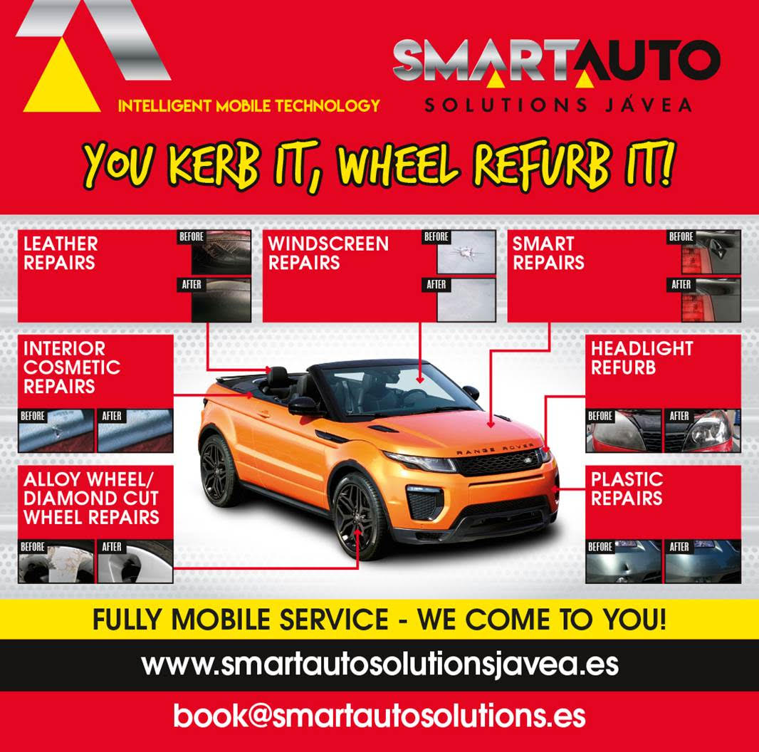 Smart Auto Solutions Javea (Fully Mobile Vehicle Body Shop)