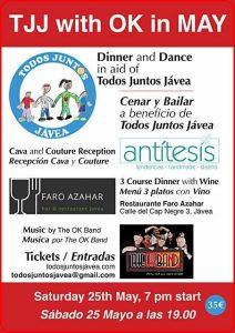 Charity Night at El Faro Azahar with the OK Band @ Azahar | Xàbia | Comunidad Valenciana | Spain