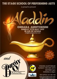 The Stage School Presents Alladin & Bugsy Malone at Ondara Theatre @ Auditorium Ondara | Ondara | Comunidad Valenciana | Spain