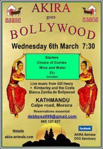 Bollywood Night at Moraira @ Kathmandu Indian Restaurant | Teulada | Comunidad Valenciana | Spain