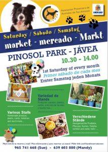 APASA Market Every Month in Pinosol Park @ Pinosol Park | Xàbia | Comunidad Valenciana | Spain