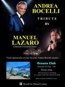 Andrea Boticelli Tribute at Oceana Club @ Oceana Club | Comunidad Valenciana | Spain