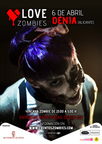 LOVE ZOMBIES IN DENIA - The Walking Dead Come to Life! @ Dénia | Valencian Community | Spain