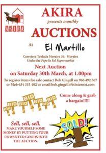 AKIRA Auction at El Martillo @ El Martillo | Moraira | Comunidad Valenciana | Spain