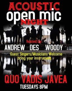 Open Mic Night at Bar Quo Vadis @ Quo Vadis | Jávea | Comunidad Valenciana | Spain