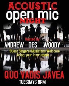 Open Mic Night at Bar Quo Vadis @ Quo Vadis | Jávea | Comunidad Valenciana | Spain