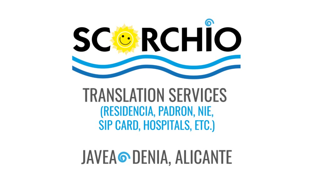 SCORCHIO SPAIN- Translation and Relocation Services.