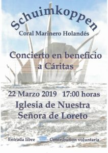 Free Shanty Concert in Aid of Caritas @ Church of Our Lady of Loreto i | Jávea | Comunidad Valenciana | Spain