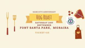 MABS 20th Anniversary Hog Roast @ Park Area Next to Go Karts | Teulada | Comunidad Valenciana | Spain