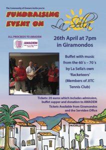 Fundraiser at Giramondo, La Sella @ Giramondo | Muntanya de la Sella | Comunidad Valenciana | Spain
