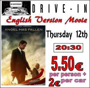 In English.. The Angel Has Fallen at the Drive In Denia @ Dénia | Comunidad Valenciana | Spain