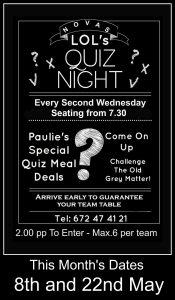 Quiz Night at Novas Lounge @ Novas | Costa Nova | Comunidad Valenciana | Spain