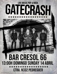 Gatecrash at Bar Cresol 66 @ Cresol 66   Pedreguer   Comunidad Valenciana   Spain