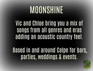 Moonshine Duo at Attlees Moonlighters @ Attlee's Moonlighters | Teulada | Comunidad Valenciana | Spain