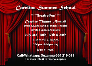 Careline Summer Theatre School @ Careline Theatre | Alcalalí | Comunidad Valenciana | Spain
