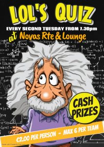Quiz Night at Novas Lounge @ Novas | Costa Nova | Comunidad Valenciana | Spain