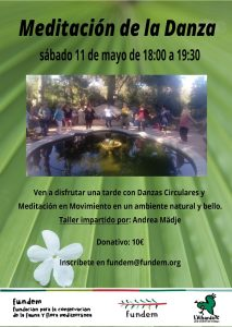 Meditatation and Dance at L'Albarda Gardens @ L'Albarda Gardens | Pedreguer | Spain