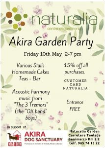 AKIRA Garden Party @ Naturalia Garden | Teulada | Spain