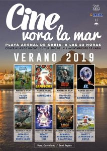 Movies on Arenal Beach. Tonight Peter Rabbit @ Arenal Beach | Platja de l'Arenal | Valencian Community | Spain