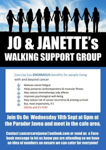 Jo and Janette's Walking Support Group @ Parador Javea | Xàbia | Spain